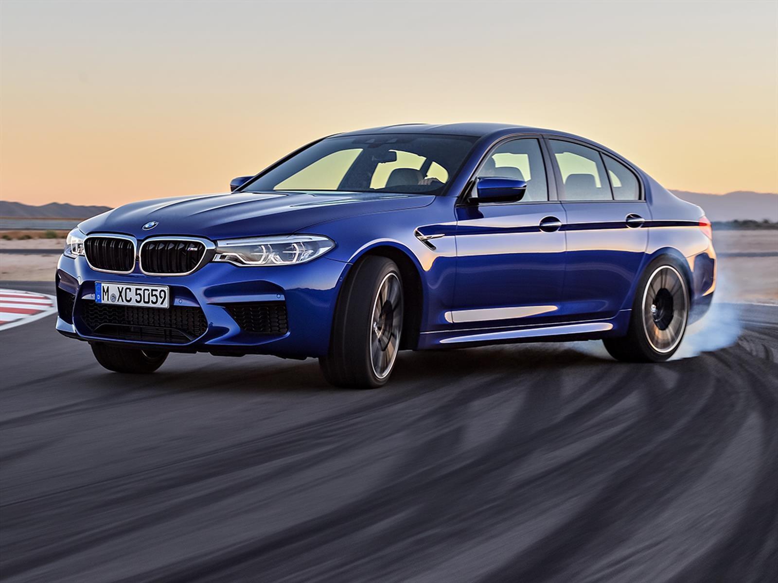 El nuevo BMW M5 tiene casi 600 CV en las cuatro ruedas
