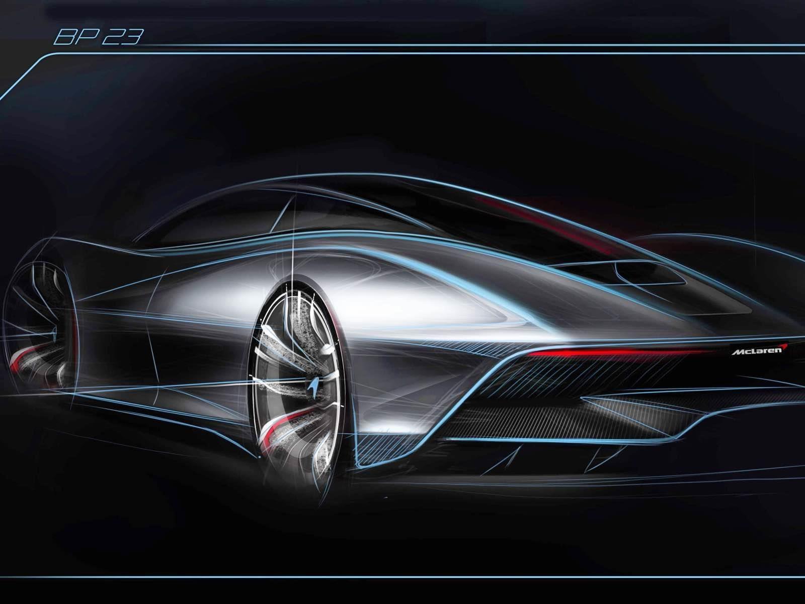 McLaren nos empieza a mostrar su futuro hiperdeportivo