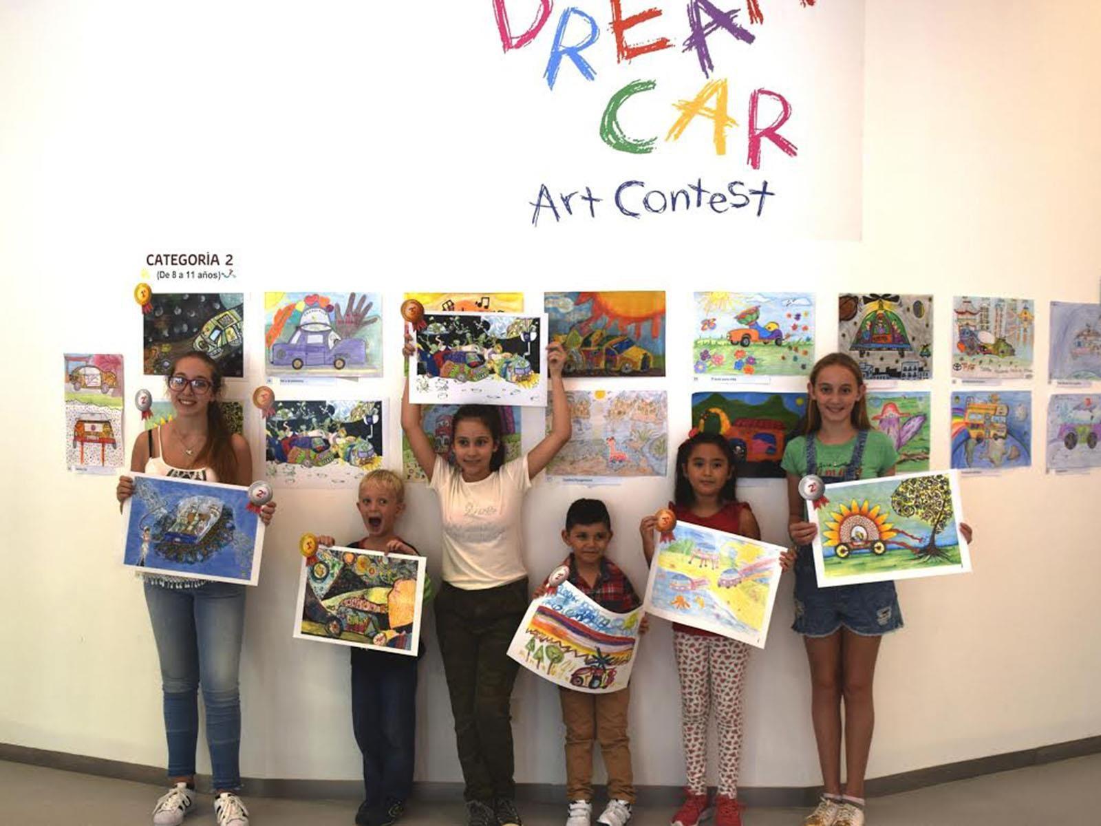 Estos son los ganadores del Toyota Dream Car Art Contest
