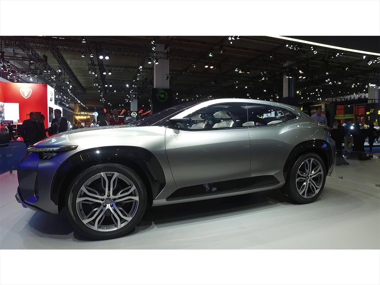 Chery Tiggo Coupe EV Concept, listo para producción