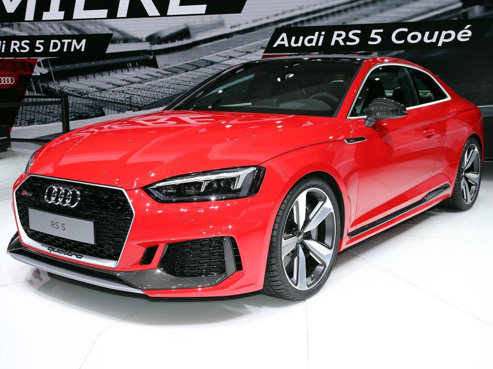 Audi RS5, con alma más deportiva
