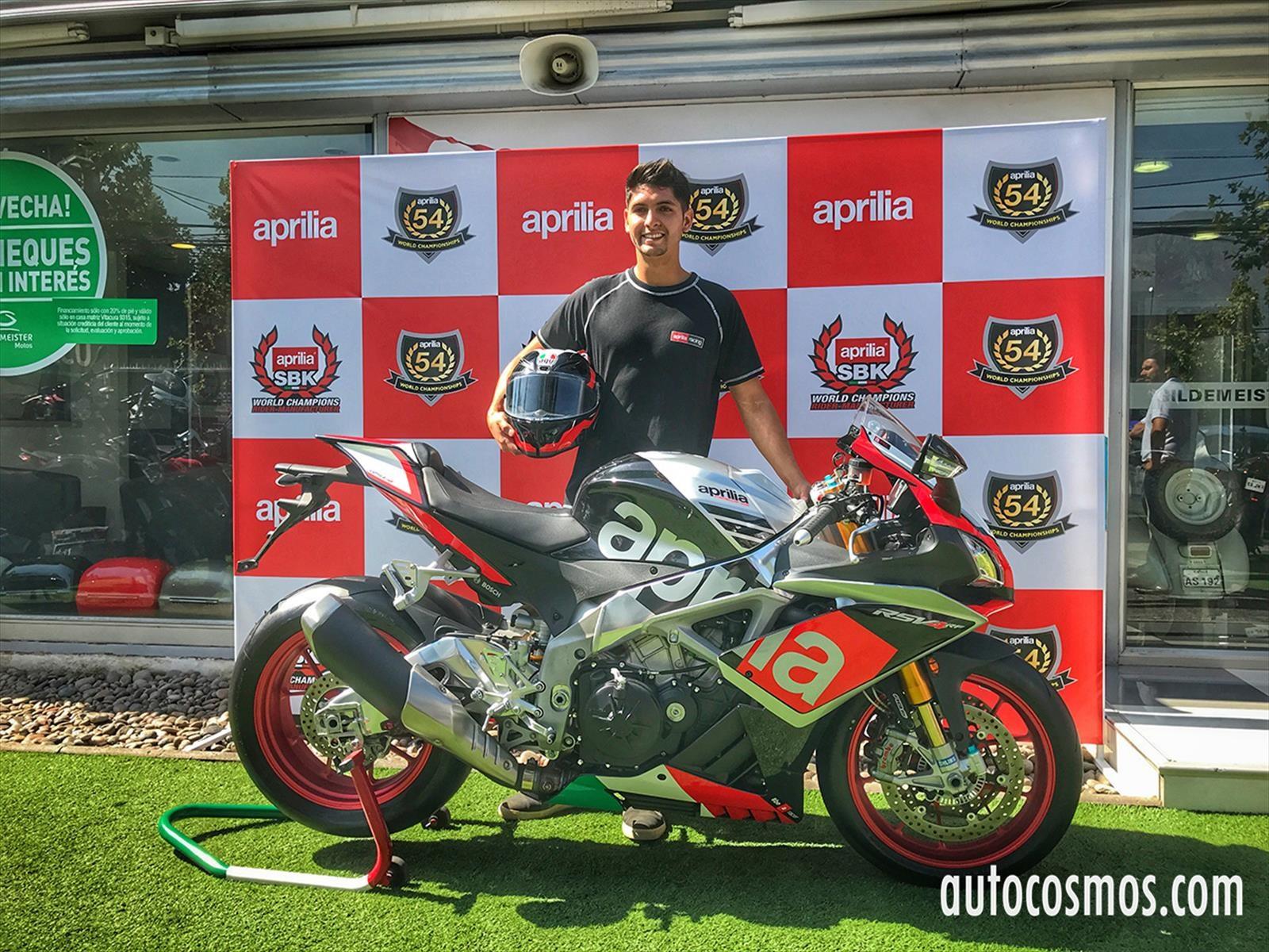Maxi Scheib firma con Aprilia de cara al Mundial de Superbike 2017 y 2018