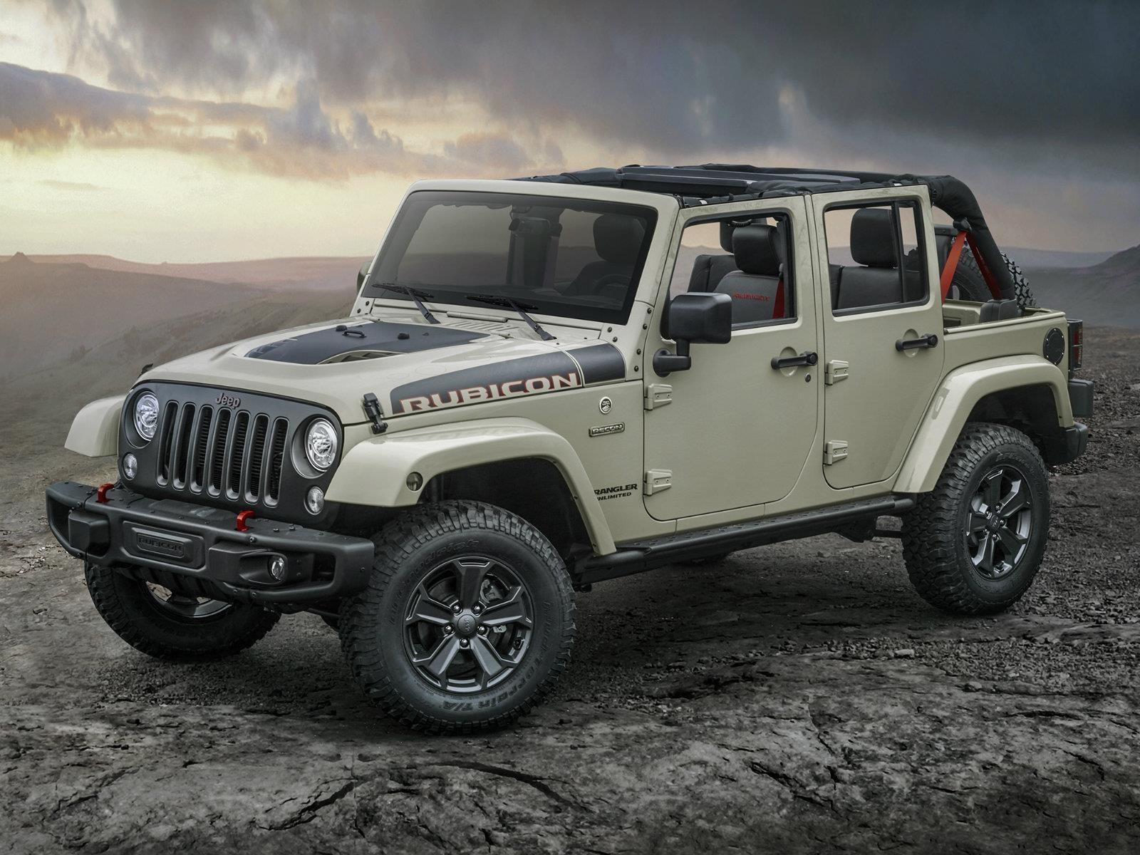 Jeep Wrangler Rubicon Recon 2017 debuta