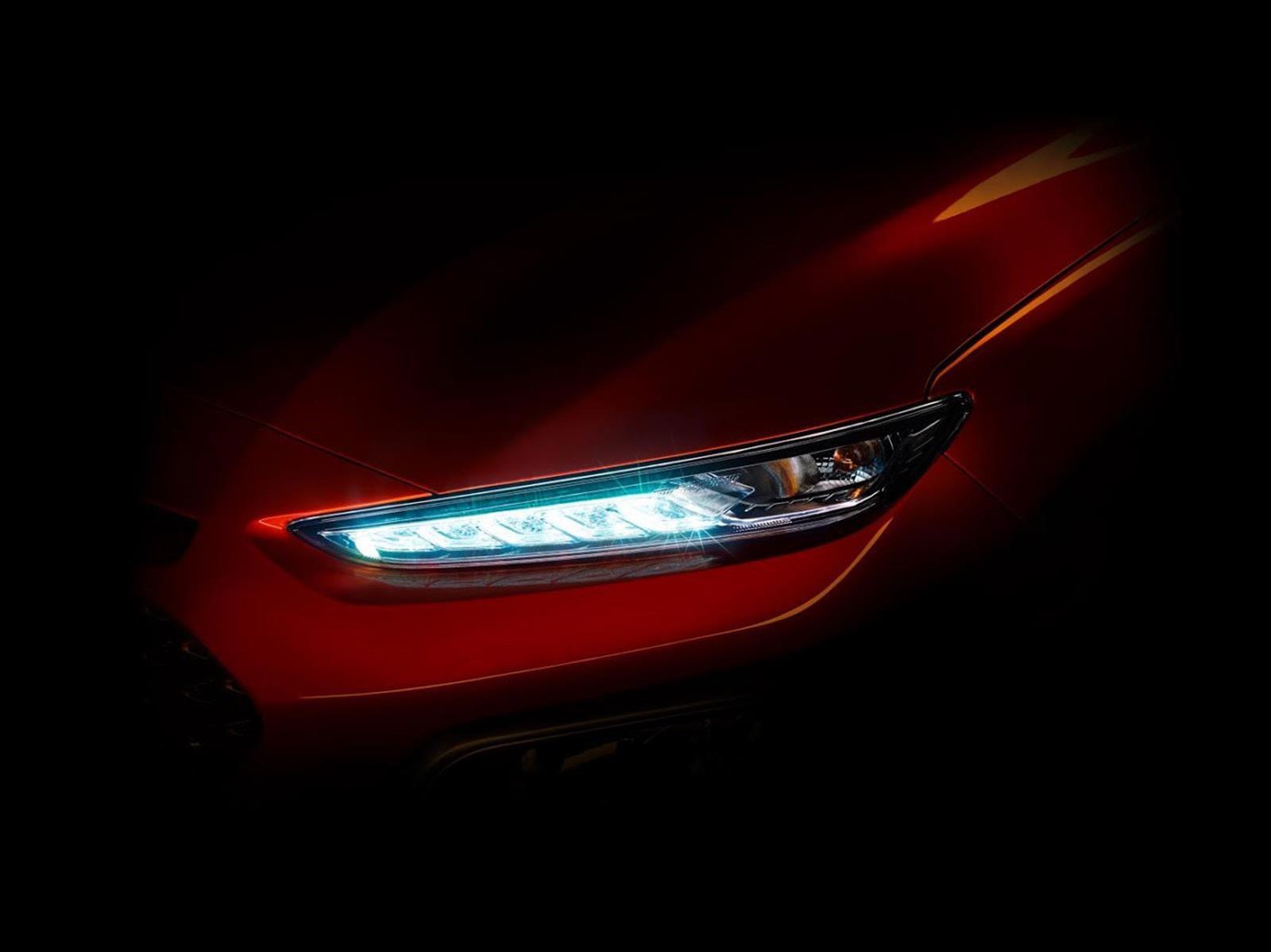 Nuevo Hyundai Kona revela su primer imagen teaser