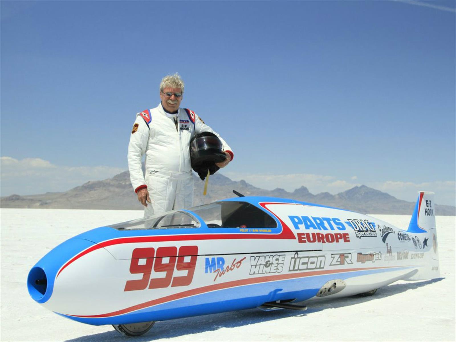 Sam Wheeler, de 72 años, fallece luego de tener un accidente a 320 Km/h