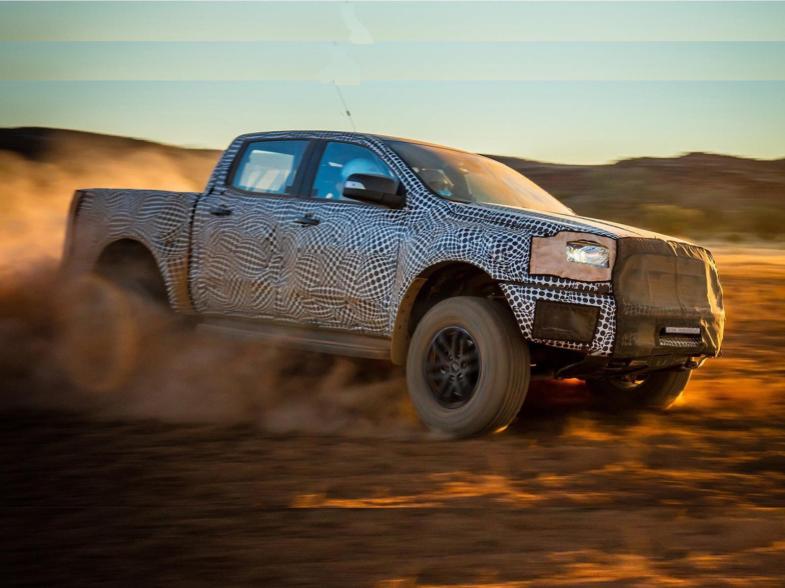 Ford Ranger Raptor a producción