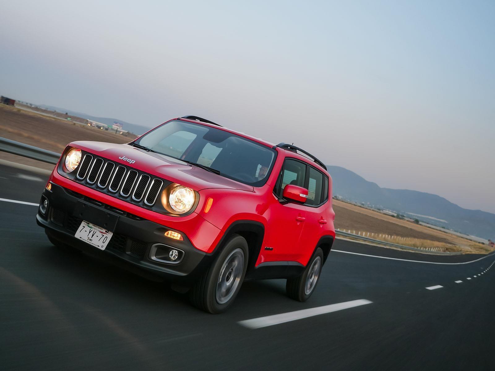 Jeep Renegade 2017 debuta