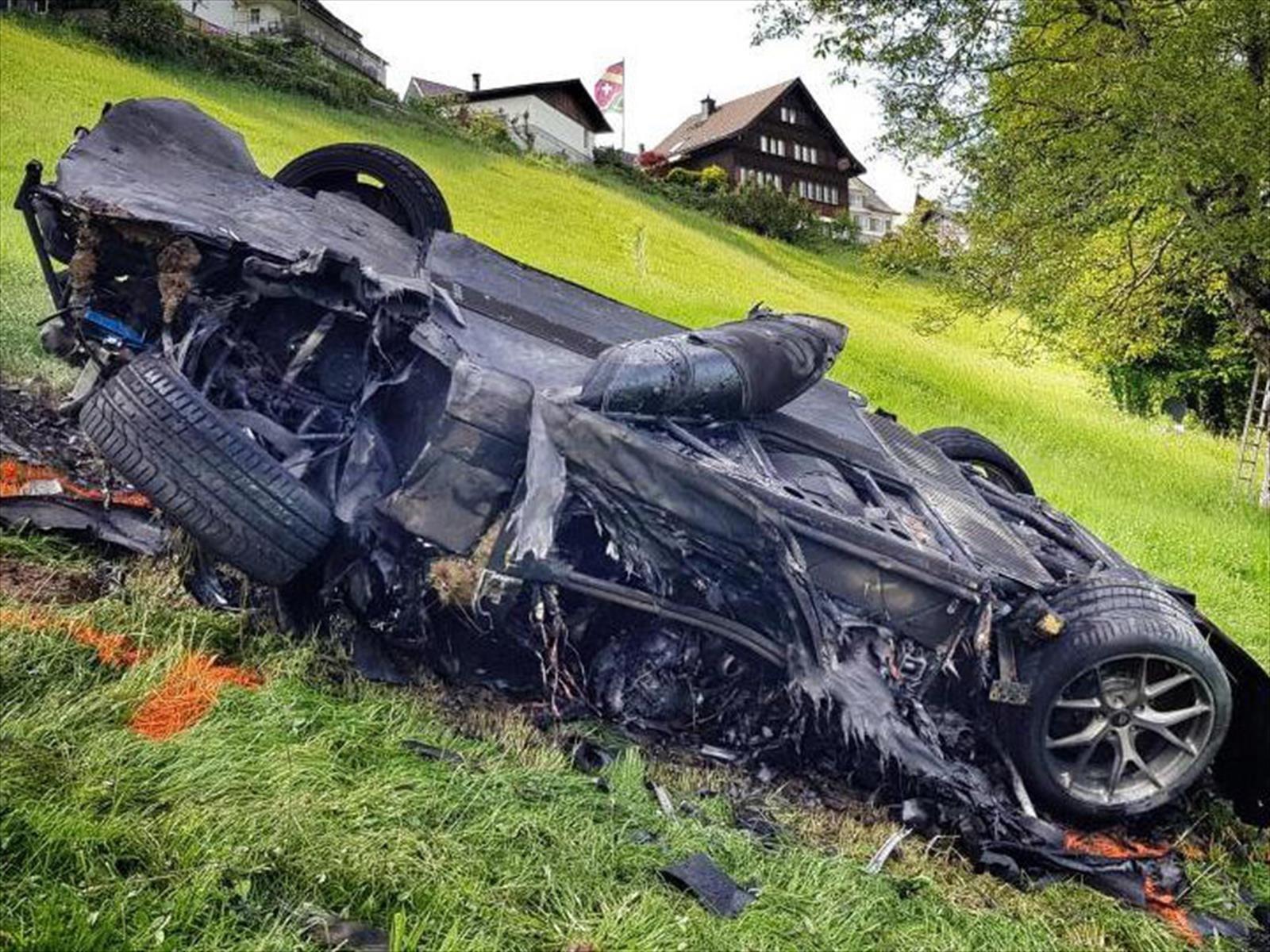 Richard Hammond sufre accidente y destruye un Rimac Concept One