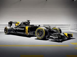 F1: Conoce el nuevo monoplaza de Renault para la temporada 2016