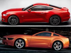 ¿El nuevo Ford Mustang 2015 está inspirado en un concepto de ItalDesign?