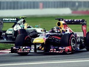 F1: Aplastante victoria de Vettel en el GP de Canadá