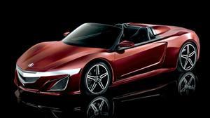 Acura NSX Roadster, el nuevo súper auto de Tony Stark