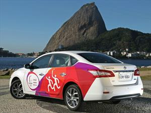 Un Nissan Sentra tomará el relevo de la antorcha olímpica en Río 2016
