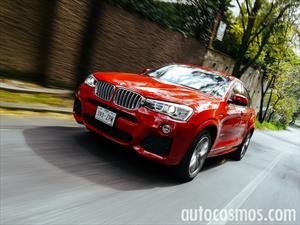 BMW X4 2015 a prueba