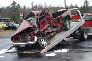 Accidentes viales mortales involucran un vehículo