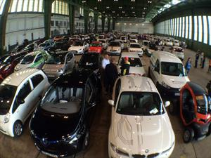 Los carros eléctricos y un nuevo Guinness Récord
