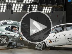 Video: Chocan un Toyota Corolla de 1998 contra Corolla de 2015