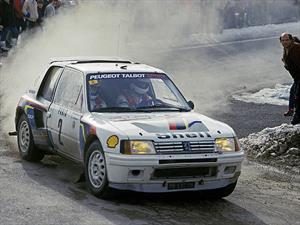 Se subastará el Peugeot 205 T16 de Ari Vatanen