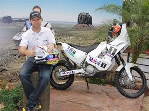 Mateo Moreno va con todo al Dakar 2017