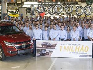 Ya son un millón las Chevrolet S10 y Trailblazer producidas en Brasil