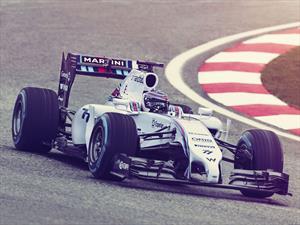 F1: El equipo Williams se viste de Martini