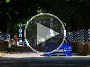 Video: Mark Higgins busca el récord con un Subaru WRX STi