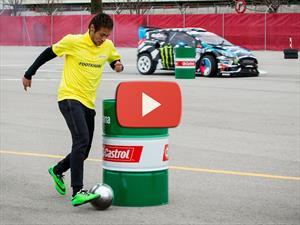 Video: Footkhana Neymar Jr. Vs. Ken Block