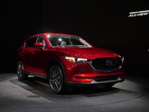 Mazda CX-5 2017, diseño más agresivo e interior más refinado
