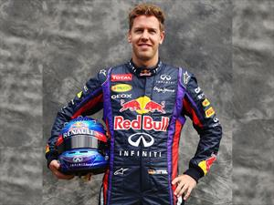 Diseña el casco de Sebastian Vettel