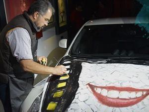 Auto Art México 2017, óleo sobre ruedas