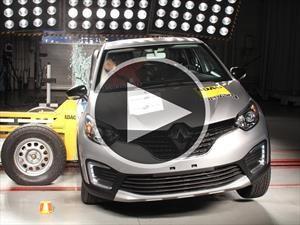 Renault Captur obtiene cuatro estrellas por Latin NCAP