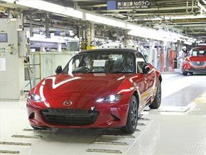 Mazda inicia la producción del nuevo MX-5