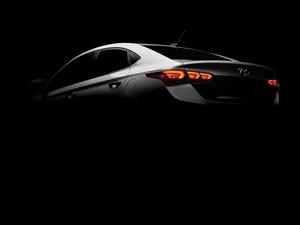 Hyundai Accent 2018 nos muestra un teaser antes de su debut mundial en Canadá