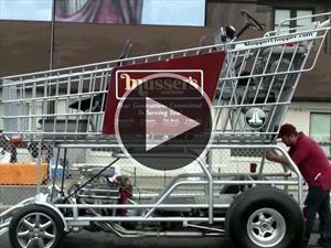 Este es Shopper Chopper, el carrito de súper con más de 300 Hp