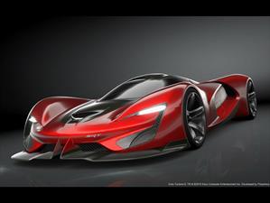 SRT Tomahawk Vision Gran Turismo ¡con más de 2,500 hp de poder!