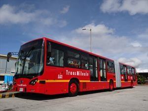 BYD pone en circulación el primer bus 100% eléctrico en Colombia