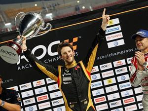 Race of Champions:Grosjean dio el golpe en la mesa