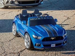 Este Mustang de Power Wheels, tiene ESP y control antivuelcos