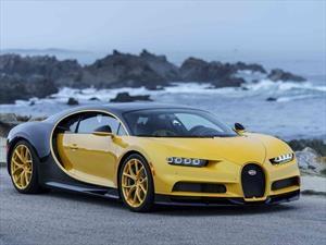 Este es el primer Bugatti Chiron que llega a Estados Unidos