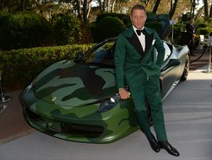 Ferrari 458 Camouflage fue subastado en $1.1 millones de dólares