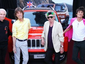 Subastado Jeep Renegade autografiado por los Rolling Stones