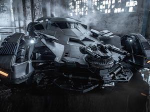 El nuevo Batimóvil al descubierto