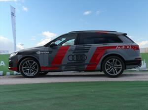 Audi Q7 deep learning concept plantea la conducción autónoma en el CES 2017