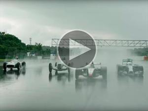 Video: 3 monoplazas clásicos de Mercedes-Benz regresan a la pista