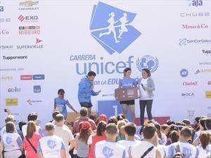 La carrera de UNICEF por la Educación, con presencia de Chevrolet