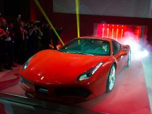Ferrari 488 GTB: Debutó en Maranello