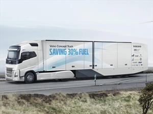 Volvo Concept Truck, un camión híbrido para largas distancias
