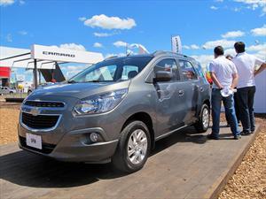 Chevrolet anticipa el Spin diesel en Expoagro
