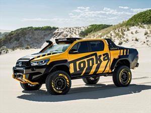 Toyota Hilux Tonka Concept, como si fuese un juguete