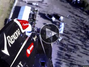 Video: The Stig salta en bungee con un F1